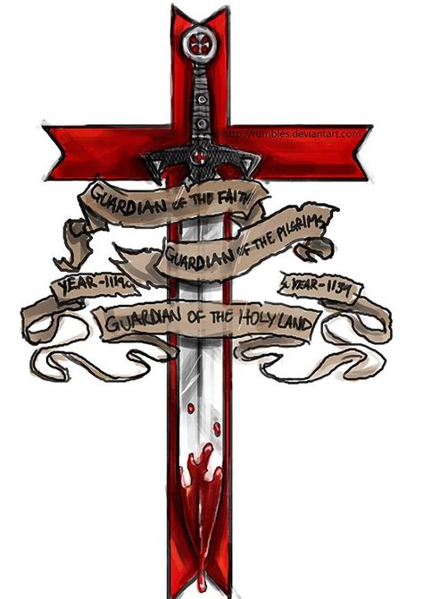 member of the templar tattoo design by mrrumbles