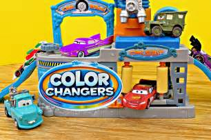 Lighting Mcqueen Car Wash Cars Color Changers Disney Cars Toys Lightning Mcqueen
