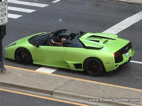 Lamborghini In Chicago Lamborghini Murcielago Spotted In Chicago Illinois On 04
