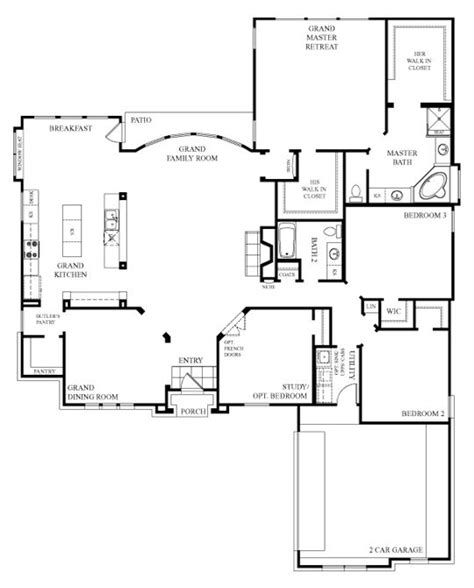 open house plan best 25 open floor plans ideas on
