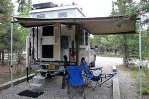 Truck Camper Awnings From Alaska To Denver To Nepal Truck Camper Magazine