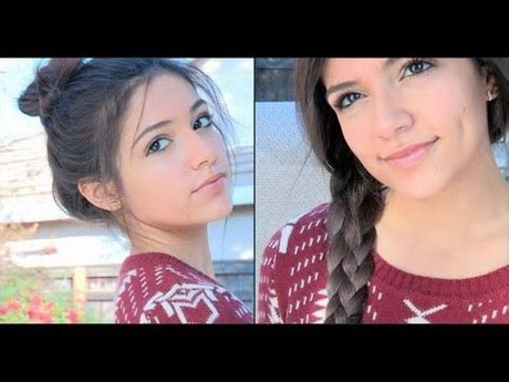 and easy hairstyles for school bethany mota bethany mota 7 hairstyles