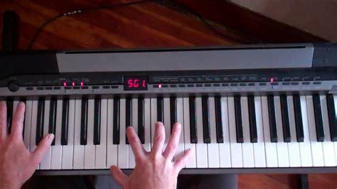 tutorial piano joe cocker joe cocker the letter piano lesson youtube