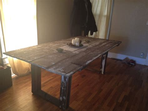 1000 Images About Barn Door Table On Pinterest Sewing Barn Door Table