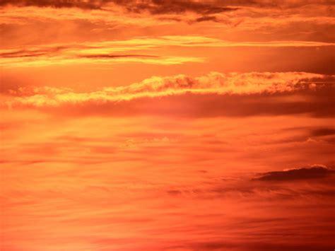 sunset orange bright orange sunset sky free stock photo domain