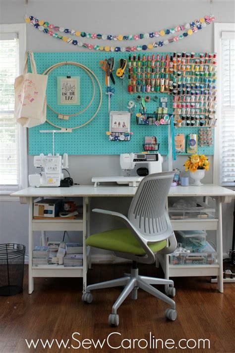 Sewing Room Storage & Organization Ideas 2017
