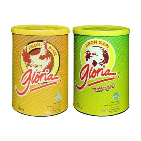 abon sapi gloria rasa bawang jual gloria abon ayam abon sapi bawang 250 g