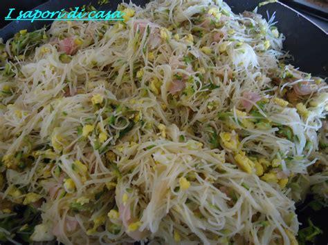 come si cucinano i spaghetti di soia spaghetti di riso saltati
