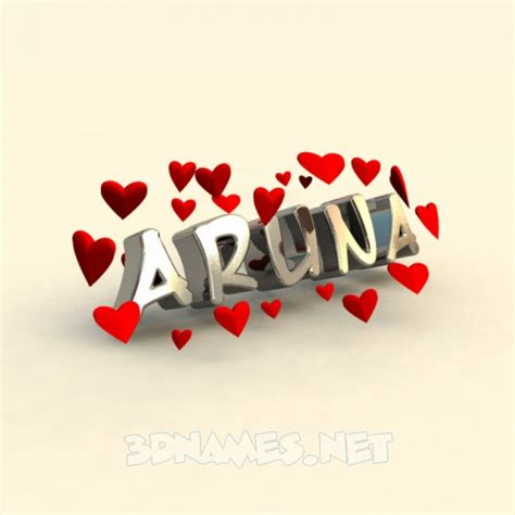 with name preview of in for name aruna