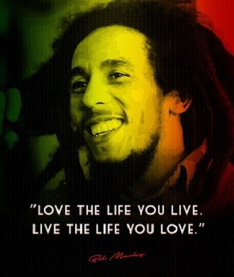 bob marley brief biography quotes by bob marley on life love and happiness