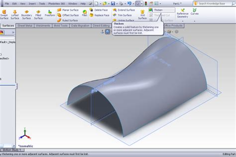 solidworks tutorial indent tutorial freeform feature in solidworks grabcad