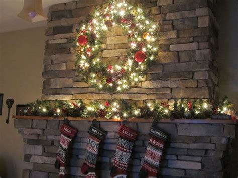 Fireplace Wreaths by Use Wreath And Quot K Quot Above Fireplace