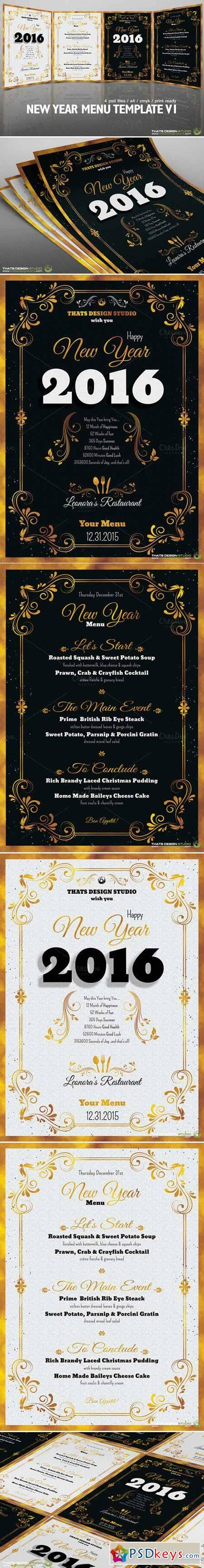 free new year menu template new year menu template v1 448521 187 free photoshop