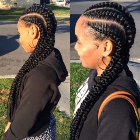 fat cornrows with style teen | trove hairstyles