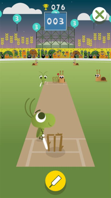 doodle cricket doodle turns into a cricket for chions