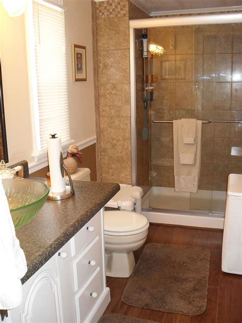 redone bathroom ideas repainted all the walls in our mobile home and redone our