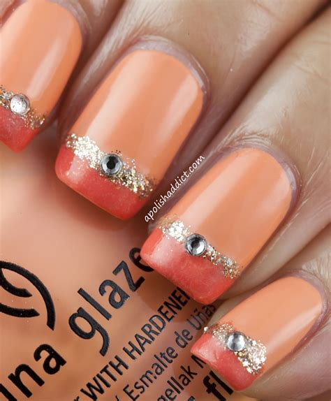 easy nail art with one color miss cupcake blog nail art