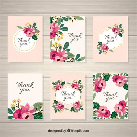 imagenes tarjetas retro pack de elegantes tarjetas vintage de flores descargar