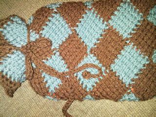 Rempel Knit our home in nebraska tunisian crochet