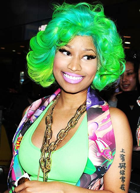 nicki minaj craziest wigs hype hair