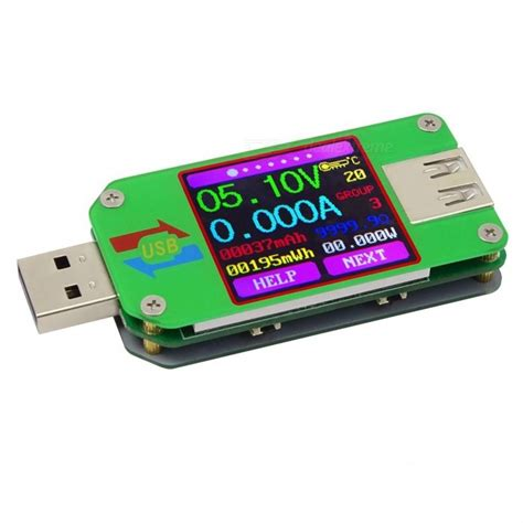 lade led per automobili rd um24c usb 2 0 farbe lcd display tester voltmeter