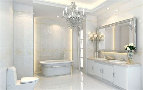 Interior Design For Bathrooms | 3d interior design bathrooms neoclassical