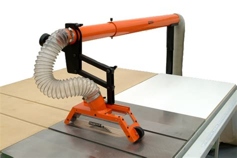 table saw dust collection guard blade cover dust collector