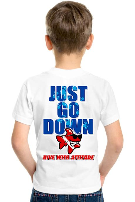 Just Go T Shirt diving t shirts just go dive with attitude dive