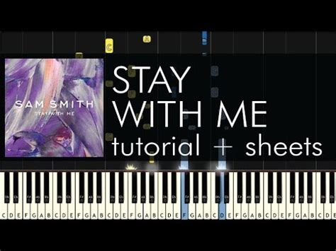 tutorial keyboard stay sam smith stay with me piano tutorial how to play