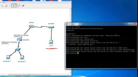 access forwarding forwarding and static nat on cisco routers access
