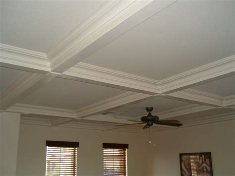 Cofered Ceiling by Gallery Experts In Crown Moulding Wainscot Beadboard