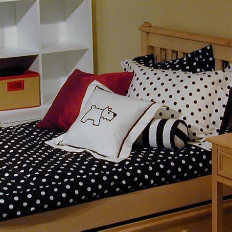 Bunk Bed Hugger Comforters Metro Black White Bunk Bed Hugger Dots Or Stripes