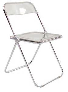 Contemporary Folding Chairs by Acrylic Lucite Furniture Images