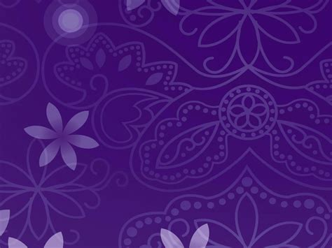 purple templates for powerpoint free download floral purple figure free ppt backgrounds for your