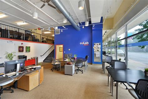 Open Floor Plan Office Coworking Space Startup Hub Learning Community Colab
