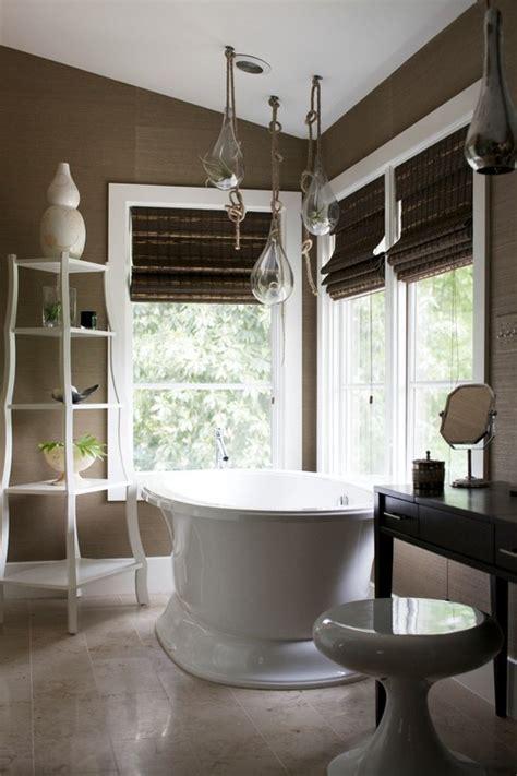Modern Bathroom Blinds Bamboo Blinds