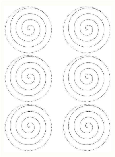 rolled paper flower pattern rose spiral template mad hatter tea party pinterest