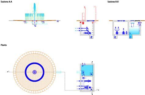 fontane a pavimento impianto fontana a pavimento cilindro