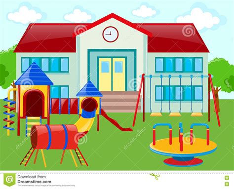 school clip place clipart school playground pencil and in color