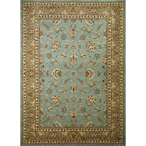 Karolus Area Rug Home Decorators Collection Karolus Blue 2 Ft 6 In X 4 Ft 6 In Accent Rug 3242210230 The