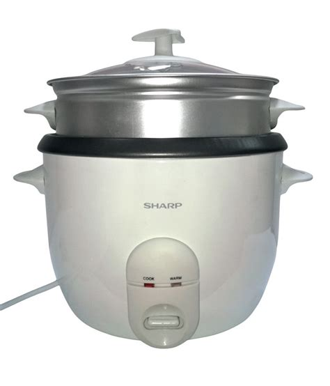 Rice Cooker Sharp Ksh 777 sharp 1 5 ltr ksh 15 w rice cooker price in india buy
