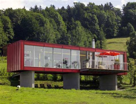 10 Cargo Shipping Container Houses, Building Designs