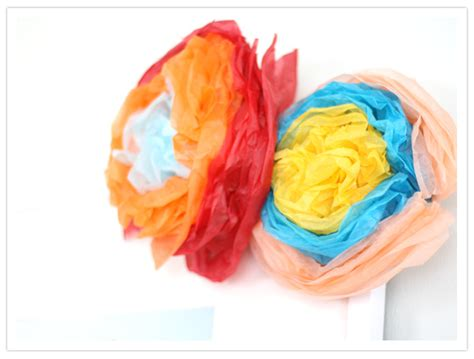 How To Make Mexican Decorations With Tissue Paper - diy festive mexican paper flowers diy projects 100