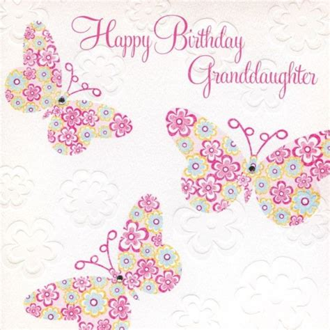 Granddaughter Birthday Card Happy Birthday Wishes For Granddaughter Page 5