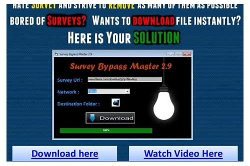 download survey remover tool 2013