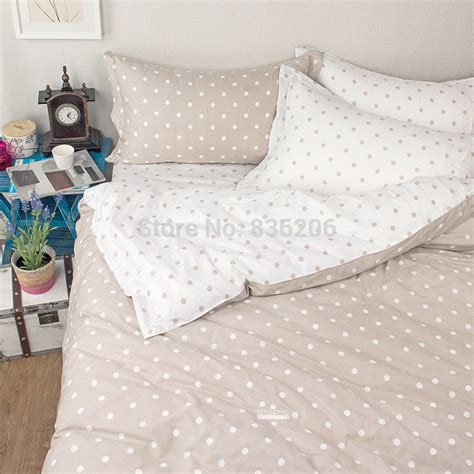 gray polka dot comforter modern 4pcs grey and white polka dot cheap cotton bedding