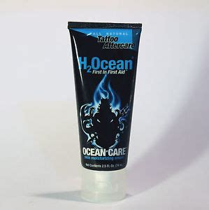 tattoo aftercare aqueous cream h2ocean ocean care natural tattoo aftercare cream lotion