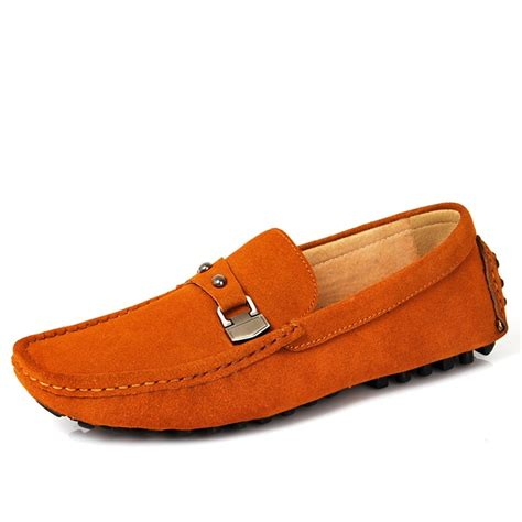 loafer drivers cwmalls 174 suede leather driving loafers cw707113