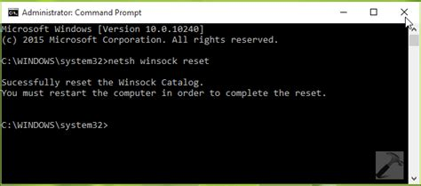 resetting windows sockets fix windows could not automatically detect this network