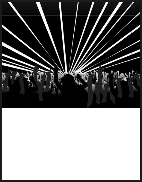 Create Your Own Band Poster Templates Band Poster Template